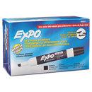 SANFORD INK COMPANY SAN80001 Low Odor Dry Erase Marker, Chisel Tip, Black, Dozen