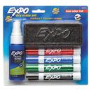 SANFORD INK COMPANY SAN80653 Low Odor Dry Erase Marker Starter Set, Chisel, Assorted, 4/set
