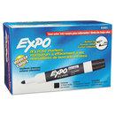 SANFORD INK COMPANY SAN82001 Low Odor Dry Erase Marker, Bullet Tip, Black, Dozen