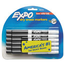SANFORD INK COMPANY SAN86001 Low Odor Dry Erase Marker, Fine Point, Black, Dozen