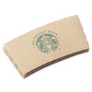 Starbucks SBK11020575 Cup Sleeves, For 12/16/20 Oz Hot Cups, Kraft, 1380/carton