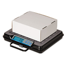 SALTER BRECKNELL SBWGP100 Portable Electronic Utility Bench Scale, 100lb Capacity, 12 X 10 Platform