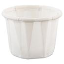 SOLO Cup SCC050 Paper Portion Cups, .5oz, White, 250/bag, 20 Bags/carton