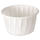 SOLO Cup SCC125U Treated Paper Souffle Portion Cups, 1 1/4 Oz., White, 250/bag