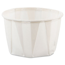 SOLO Cup SCC200 Paper Portion Cups, 2oz, White, 250/bag, 20 Bags/carton