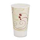 SOLO Cup SCC316SMSYM Hot Cups, Symphony Design, 16oz, Beige, 1000/carton
