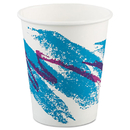 SOLO Cup SCC370JZJ Jazz Paper Hot Cups, 10oz, Polycoated, 50/bag, 20 Bags/carton