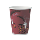 SOLO Cup SCC370SIPK Bistro Design Hot Drink Cups, Paper, 10oz, 50/pack