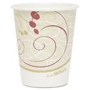 SOLO Cup SCC370SMSYM Hot Cups, Symphony Design, 10oz, Beige, 1000/carton