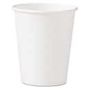 SOLO Cup SCC370W Polycoated Hot Paper Cups, 10 Oz, White