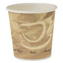 Dart SCC374MS Single Sided Poly Paper Hot Cups, 4 oz, Mistique Design, 1,000/Carton
