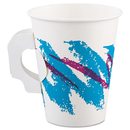 SOLO Cup SCC378HJZJ Jazz Paper Hot Cups, Handles, 8oz, Polycoated, 1000/carton