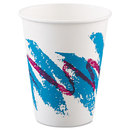SOLO Cup SCC378JZJ Jazz Paper Hot Cups, 8oz, Polycoated, 50/bag, 20 Bags/carton