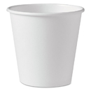 SOLO Cup SCC410W Polycoated Hot Paper Cups, 10 Oz, White, 1000/carton