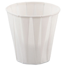 SOLO Cup SCC450 Paper Medical & Dental Treated Cups, 3.5oz, White, 100/bag, 50 Bags/carton