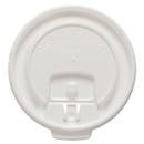 SOLO Cup SCCDLX8RPK Liftback & Lock Tab Cup Lids For Foam Cups, Fits 8 Oz Trophy Cups, We, 100/pk