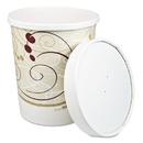 SOLO Cup SCCKHB32ASYM Flexstyle Double Poly Food Combo Packs, Paper, Symphony Design, 32oz,250/crtn