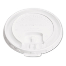 SOLO Cup SCCLB3101 Lift Back & Lock Tab Cup Lids For Foam Cups, 10oz, White, 1000/carton