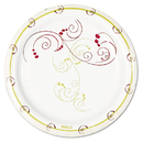 SOLO Cup SCCMP6J8001CT Symphony Paper Dinnerware, Mediumweight Plate, 6