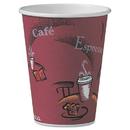 SOLO Cup SCCOF12BI0041 Bistro Design Hot Drink Cups, Paper, 12oz, 300/carton