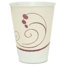 SOLO Cup SCCX12J8002CT Symphony Design Trophy Foam Hot/cold Cups, 12oz, Beige, 1000/carton