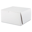 Southern Champion SCH0977 Tuck-Top Bakery Boxes, 10w X 10d X 5 1/2h, White, 100/carton
