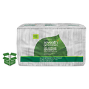 Seventh Generation SEV13713CT 100% Recycled Napkins, 1-Ply, 11 1/2 X 12 1/2, White, 250/pack, 12 Packs/carton