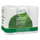 Seventh Generation SEV13731PK 100% Recycled Paper Towel Rolls, 2-Ply, 11 X 5.4 Sheets, 140 Sheets/rl, 6/pk