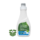 Seventh Generation SEV 22833 Natural Liquid Fabric Softener, Free & Clear, 42 Loads, 32 oz Bottle, 6/Carton