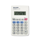 SHARP ELECTRONICS CORP. SHREL233SB El233sb Pocket Calculator, 8-Digit Lcd
