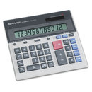 Sharp SHRQS2130 Qs-2130 Compact Desktop Calculator, 12-Digit Lcd