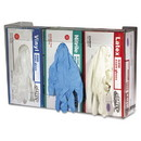 San Jamar G0805 Clear Plexiglas Disposable Glove Dispenser, Three-Box, 18w x 3 3/4d x 10h