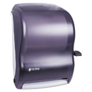 LAGASSE, INC. SJMT1100TBK Lever Roll Towel Dispenser, Classic, Black Pearl, 12 15/16 X 9 1/4 X 16 1/2