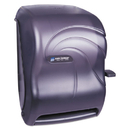 San Jamar SJMT1190TBK Lever Roll Towel Dispenser, Oceans, Black Pearl, 12 15/16 X 9 1/4 X 16 1/2
