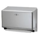 LAGASSE, INC. SJMT1950XC Mini C-Fold/multifold Towel Dispenser, Chrome, 11 1/8 X 3 7/8 X 7 7/8