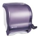 San Jamar SJMT950TBK Element Lever Roll Towel Dispenser, Classic, Black, 12 1/2 X 8 1/2 X 12 3/4