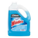 Windex 696503 Glass Cleaner with Ammonia-D, 1gal Bottle, 4/Carton