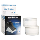 SEIKO INSTRUMENTS INC. SKPSLPFLW Self-Adhesive File Folder Labels, 9/16 X 3-7/16, White, 260/box