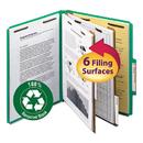 Smead SMD14063 Pressboard Classification Folder, 2