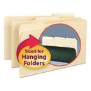 SMEAD MANUFACTURING CO. SMD15230 Interior File Folders, 1/3 Cut Top Tab, Legal, Manila, 100/box