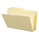 Smead SMD15320 File Folders, 1/2 Cut, One-Ply Top Tab, Legal, Manila, 100/box