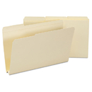 SMEAD MANUFACTURING CO. SMD15405 Heavyweight File Folders, 1/3 Tab, 1 1/2 Inch Expansion, Legal, Manila, 50/box