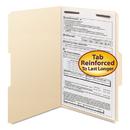 SMEAD MANUFACTURING CO. SMD19534 Folders, One Fastener, 1/3 Cut Assorted, Top Tab, Legal, Manila, 50/box