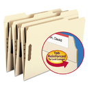 SMEAD MANUFACTURING CO. SMD19547 Folders, Two Fasteners, 1/3 Cut Assorted Top Tabs, Legal, Manila, 50/box