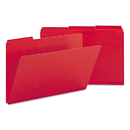 SMEAD MANUFACTURING CO. SMD22538 Recycled Folder, One Inch Expansion, 1/3 Top Tab, Legal, Bright Red, 25/box