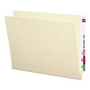 Smead SMD24210 Heavyweight Folders, Straight Two-Ply End Tab, Letter, Manila, 50/box