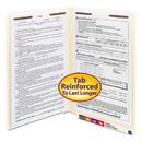 SMEAD MANUFACTURING CO. SMD37115 Manila Folders, Two Fasteners, End Tab, Legal, 11pt Manila, 50/box