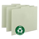 SMEAD MANUFACTURING CO. SMD50334 Recycled Tab File Guides, Blank, 1/3 Tab, Pressboard, Letter, 100/box