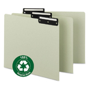 SMEAD MANUFACTURING CO. SMD50534 Recycled Tab File Guides, Blank, 1/3 Tab, Pressboard, Letter, 50/box