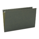 Smead SMD64110 Hanging File Folders, Untabbed, 11 Point Stock, Legal, Green, 25/box